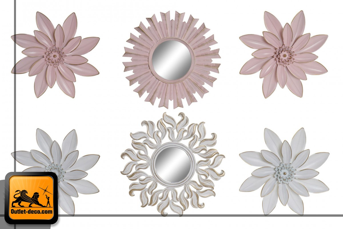 DECORACION PARED SET 3 PP 25X35 25 FLORAL 2 SURT.