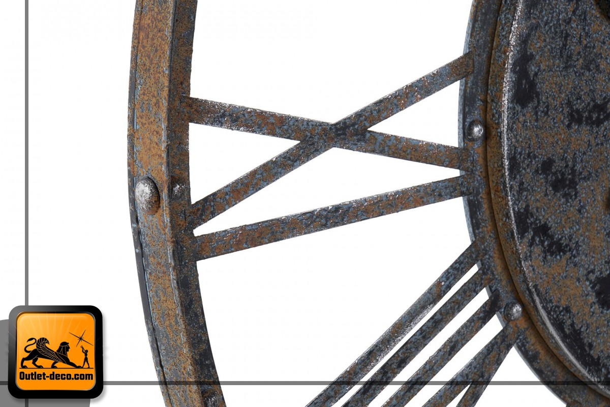 RELOJ PARED METAL 79X4X79 79