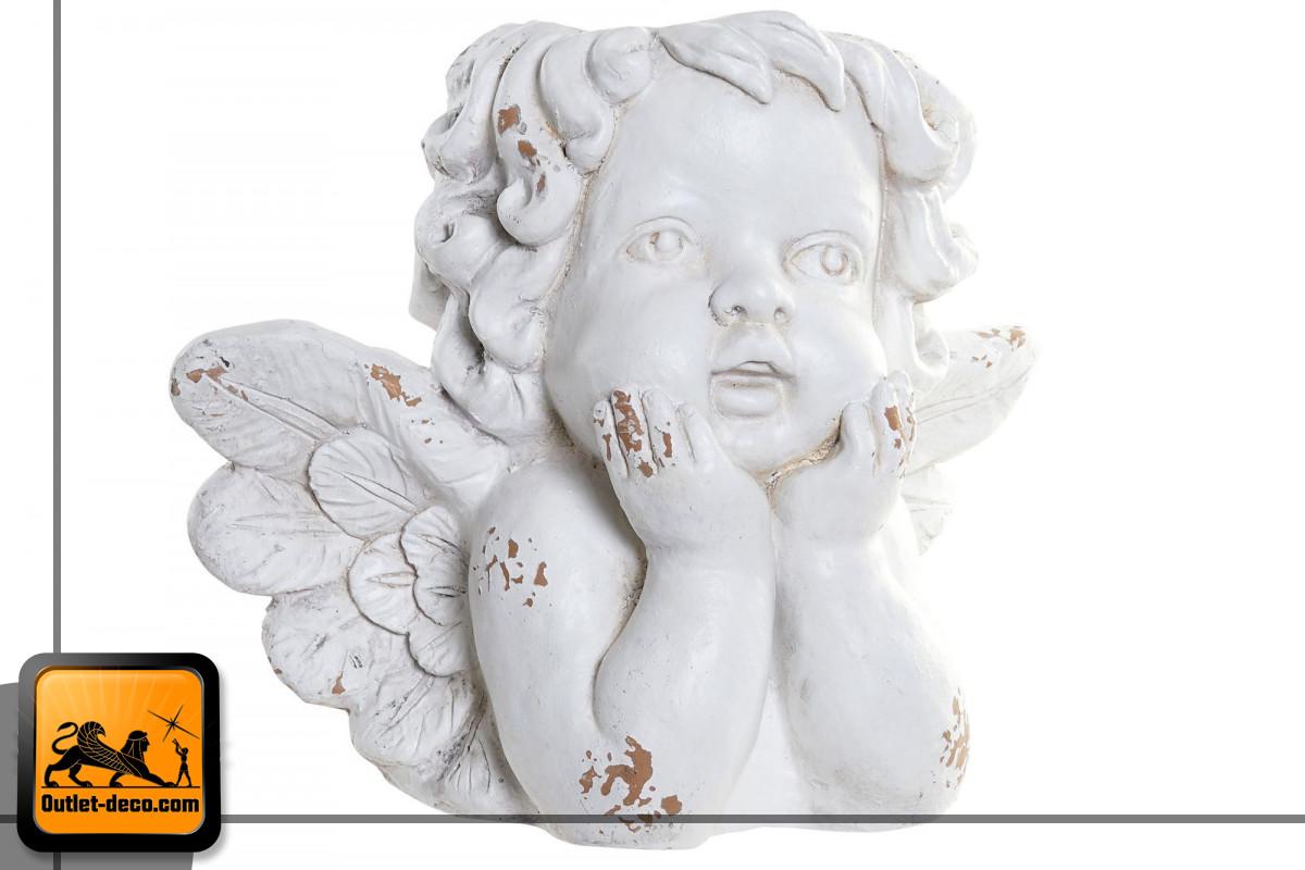 MACETERO FIBRA VIDRIO 44X26X35 ANGEL GRIS