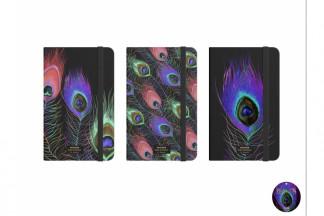 LIBRETA CARTON 9,5X1,5X14 80H, HOLOGRAMA 3 SURT.