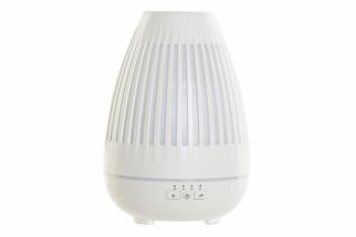 DIFUSOR AROMA LED ABS 14X14X20 260ML BLANCO