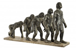 FIGURA RESINA 45,8X10,5X26,5 EVOLUCION COBRIZO