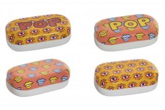 PASTILLERO PU METAL 9,7X5,5X3,2 POP 4 SURT.