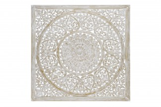 DECORACION PARED MDF 120X2,5X120 10,8 MANDALA