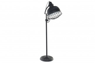 LAMPARA PIE METAL 30X48X149 FOCO