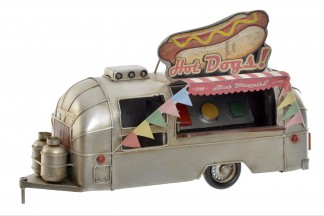 VEHICULO DECORACION METAL 31X14X19 FOODTRUCK
