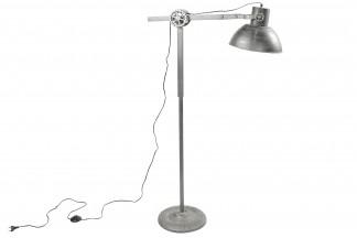 LAMPARA PIE METAL 80X30X150 GRIS