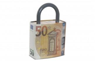 HUCHA METAL 16X8,8X24,8 16 50 EUROS NARANJA