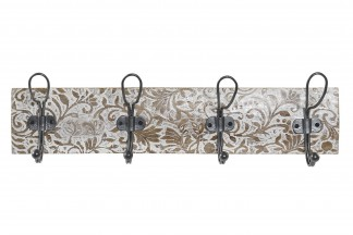 PERCHERO PARED MANGO METAL 61X12X18 1,9 DECAPE