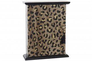 GUARDALLAVES MDF 21X6X26,5 LEOPARDO NATURAL