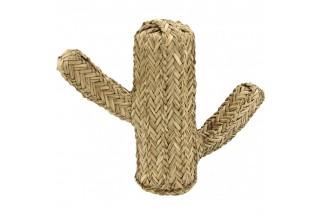 Cactus hecho de junco natural