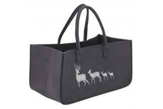 Bolsa de fieltro con ciervo