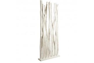 Separador de habitaciones de madera patinada