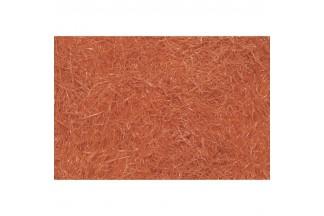 Engarzado de pergamina naranja oscuro