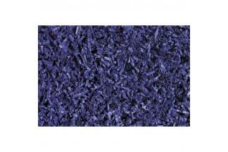 Volante de papel plisado azul marino 958