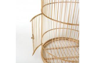 Jaulas de bambú natural