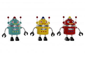 HUCHA RESINA 19X10X18 ROBOT 3 SURT.