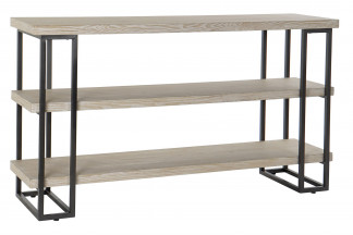 ESTANTERIA ABETO METAL 142X40X82 NATURAL