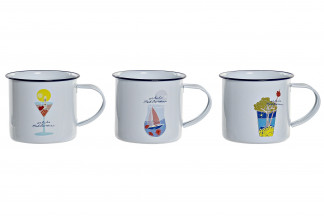 MUG METAL 14X10X9 500ML. 3 SURT.