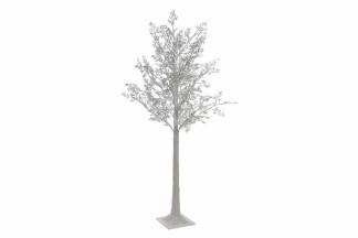 ARBOL LED PVC 22X22X150 200 LEDS BLANCO