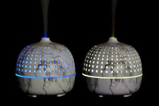 DIFUSOR AROMA LED 11,7X11,7X12 180 ML, HUMIDIFICAD